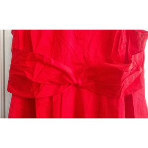 Lane Bryant Dresses - Lane Bryant Dress Plus 24 Lela Rose Red Sleeveless